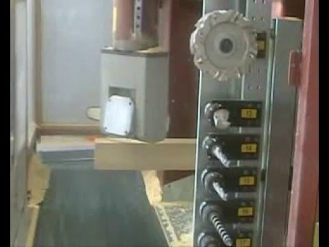 Essetre Techno PF - CNC Timber Processing Center