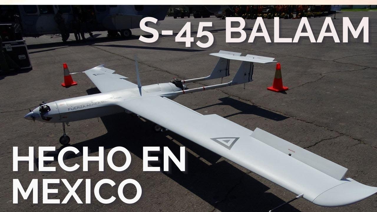 La FAM presenta por primera vez un S-45 construido en México - YouTube