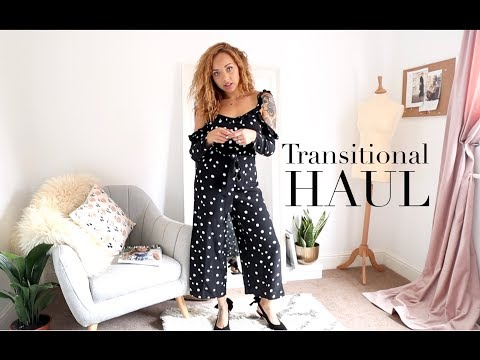 TRANSITIONAL HIGH STREET HAUL | Samantha Maria