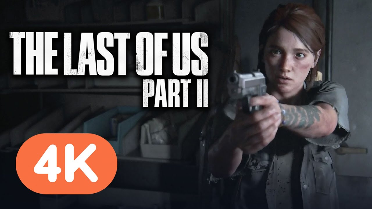 The Last of Us Part 2: 23 Minutes of 4K Gameplay