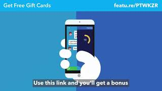 Claim your 50 bonus points instantly PayPal, Google Play, Xboxx, Gift cards