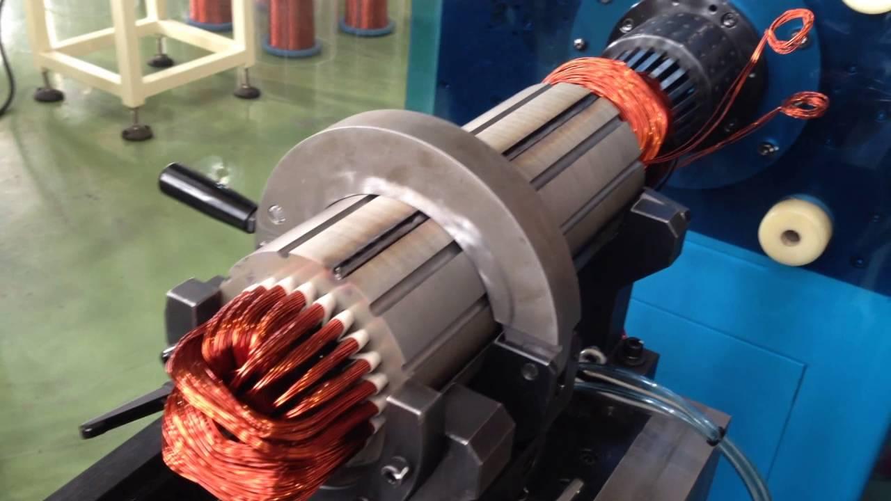 Deep Well Pump Motor Stator Winding Insertion Machine