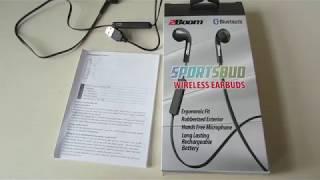 2Boom Sportsbud Wireless Headphones Review