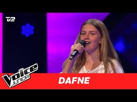 Dafne  May It Be af Enya  Blind 4  Voice Junior Danmark 2017