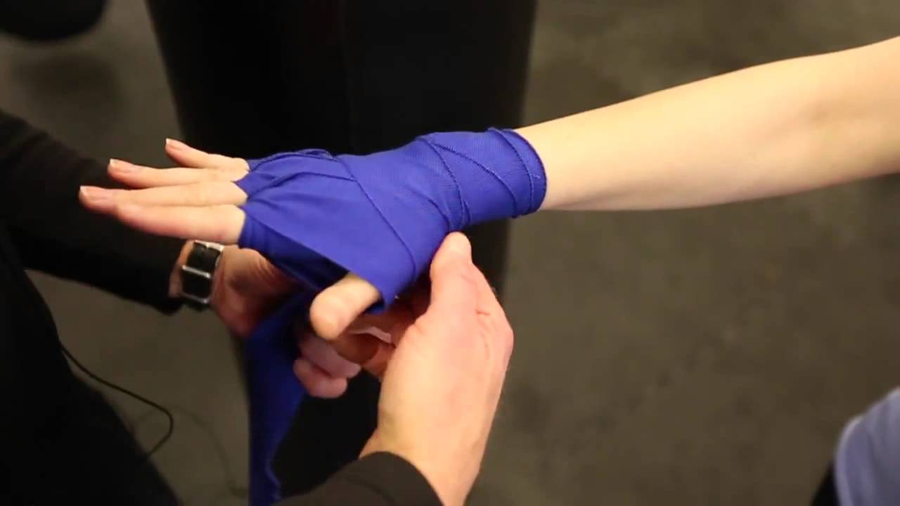 How To Wrap Your Hands For Boxing Title Boxing Club