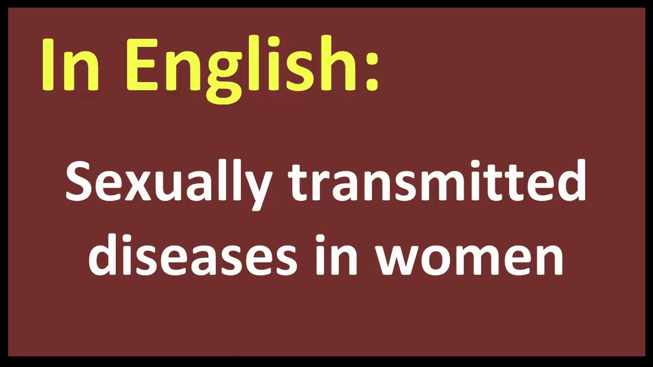 Sexually Transmitted Disease In Spanish