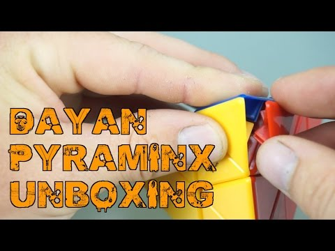 Dayan Pyraminx Unboxing | TheCubicle 60 FPS