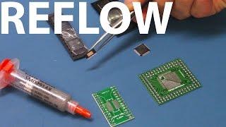 Soudure à air chaud Reflow SMD
