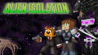 demasiado miedo   minecraft alien isolation   con exo y ladyboss