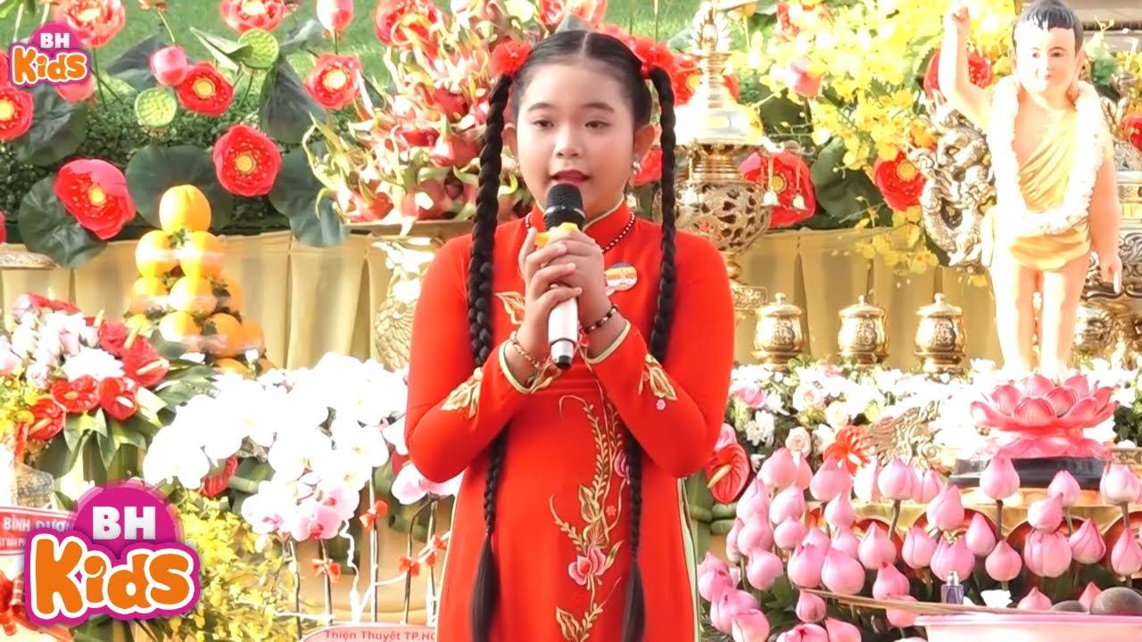 Ánh Đạo Huy Hoàng - Bé Ngọc Ngân hát nhạc phật hay nhất