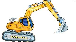 Строительные машины и инструменты - развивающее видео для детей - iMap4kids(Анимированная карта (мультфильм) для детей про строительную технику и инструменты - строительные машины..., 2014-10-18T15:20:16.000Z)