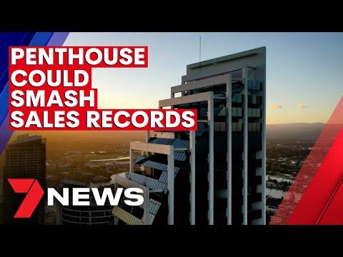 Gold Coast penthouse could smash sale records | 7NEWS
