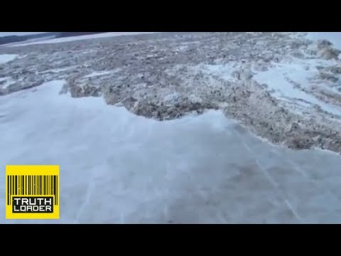 Incredible video: Massive ice surge on Saskatchewan River - Truthloader