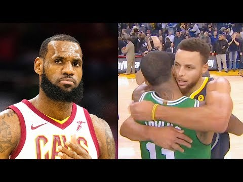 LeBron James Says Kyrie Irving & Stephen Curry are Amazing After Duel! Stephen Curry vs Kyrie Irving