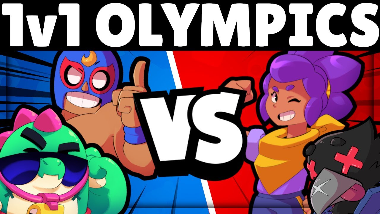 Download EVERY Brawler 1v1 Olympics!   Who is STRONGEST?!