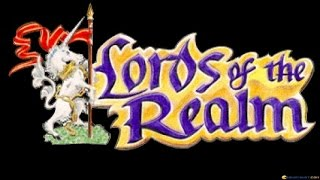 Lords of the Realm gameplay (PC Game, 1994)