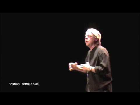 Bernard Grondin, conteur - Québec - Festival du conte du Québec - 091025