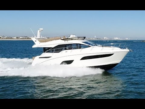 2018 Sea Ray Fly 460 Sport Yacht For Sale at MarineMax Clearwater