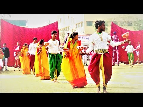 Indian Republic Day 2018 | Dhunuchi Naach | Folk Dance | Chandannagar Bratachari