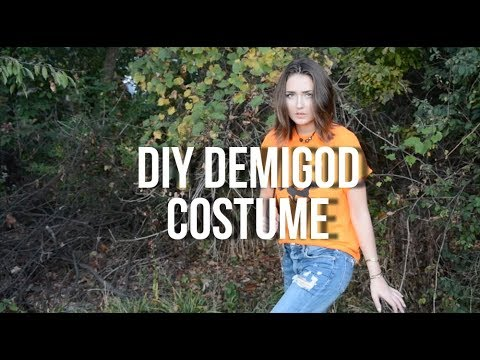 DIY Percy Jackson Camp Half-Blood Costume Tutorial