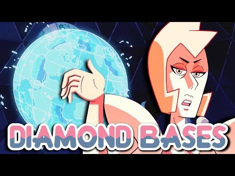 THE DIAMOND BASES - a Part of Pink Diamond's Planet | Steven Universe Theory