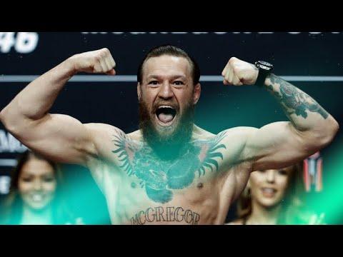 Every Conor McGregor UFC Weigh-In Scream (2020)