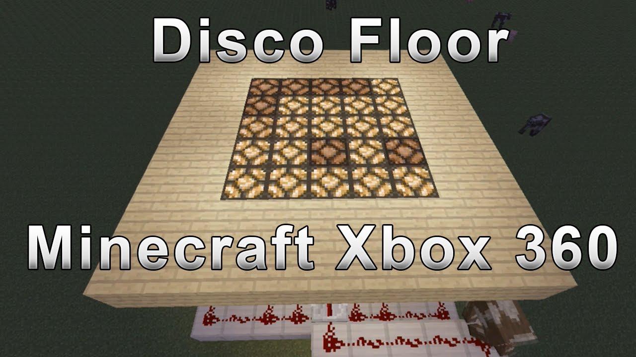 Disco Floor Tutorial Minecraft Xbox 360