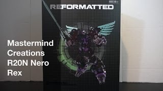 Transformers Review: Mastermind Creations R20N Nero Rex. P4L Reviews