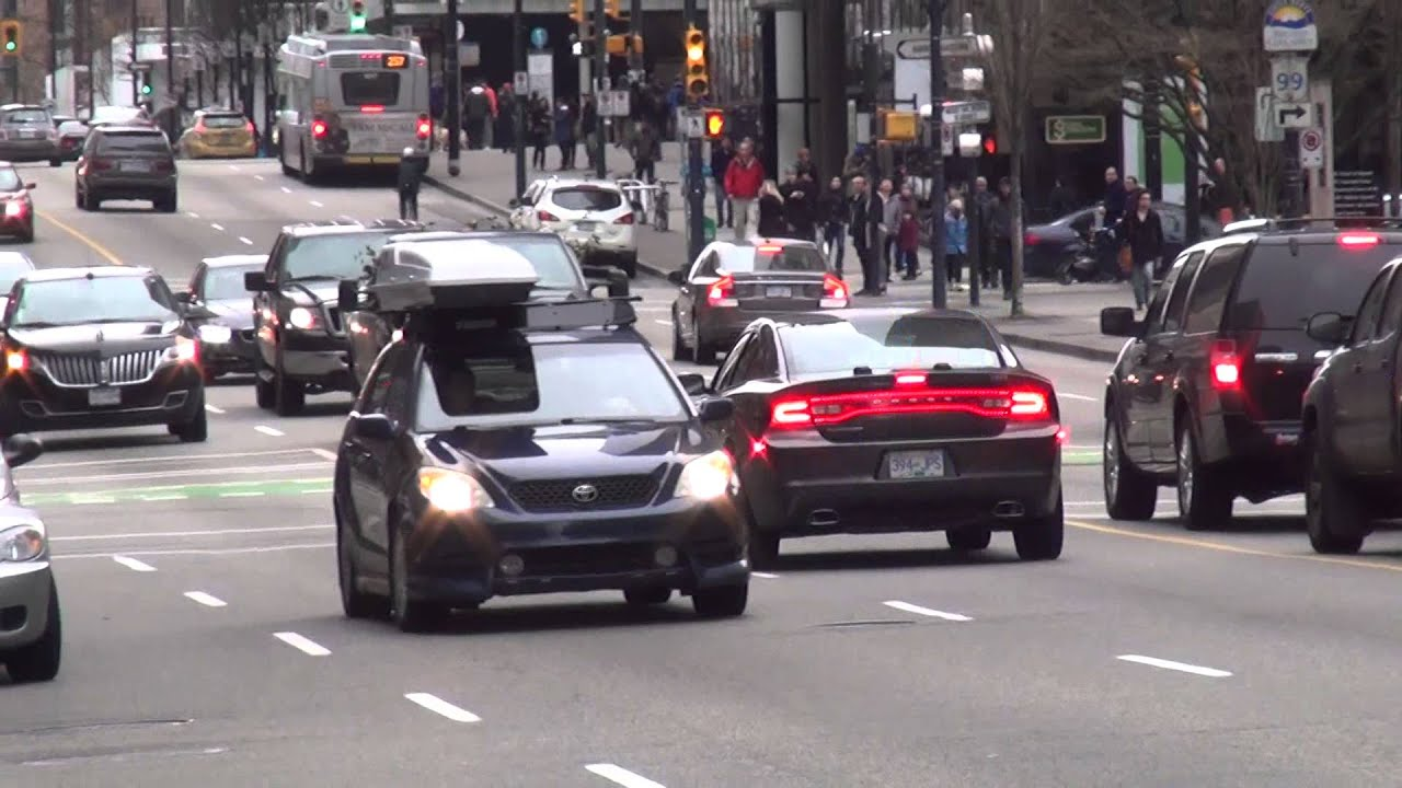 Vancouver Police Unmarked Dodge Charger & Unmarked Chevy Silverado