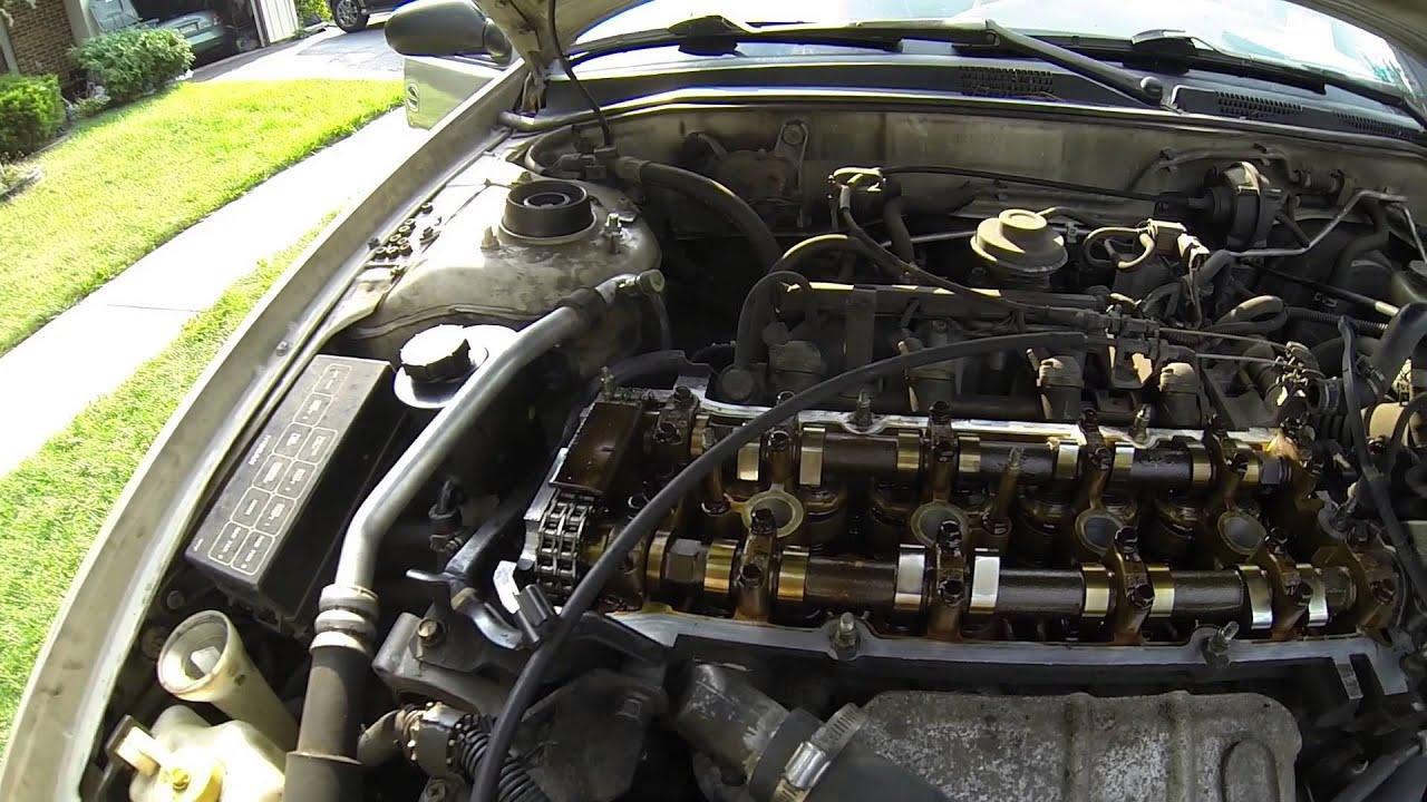 1996 Nissan Altima Valve Cover Gasket Spark Plug Well