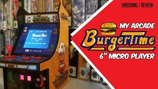 Tiny Arcade Burger Time