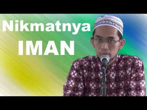 Ustadz Adi Hidayat Lc. Nikmatnya Iman