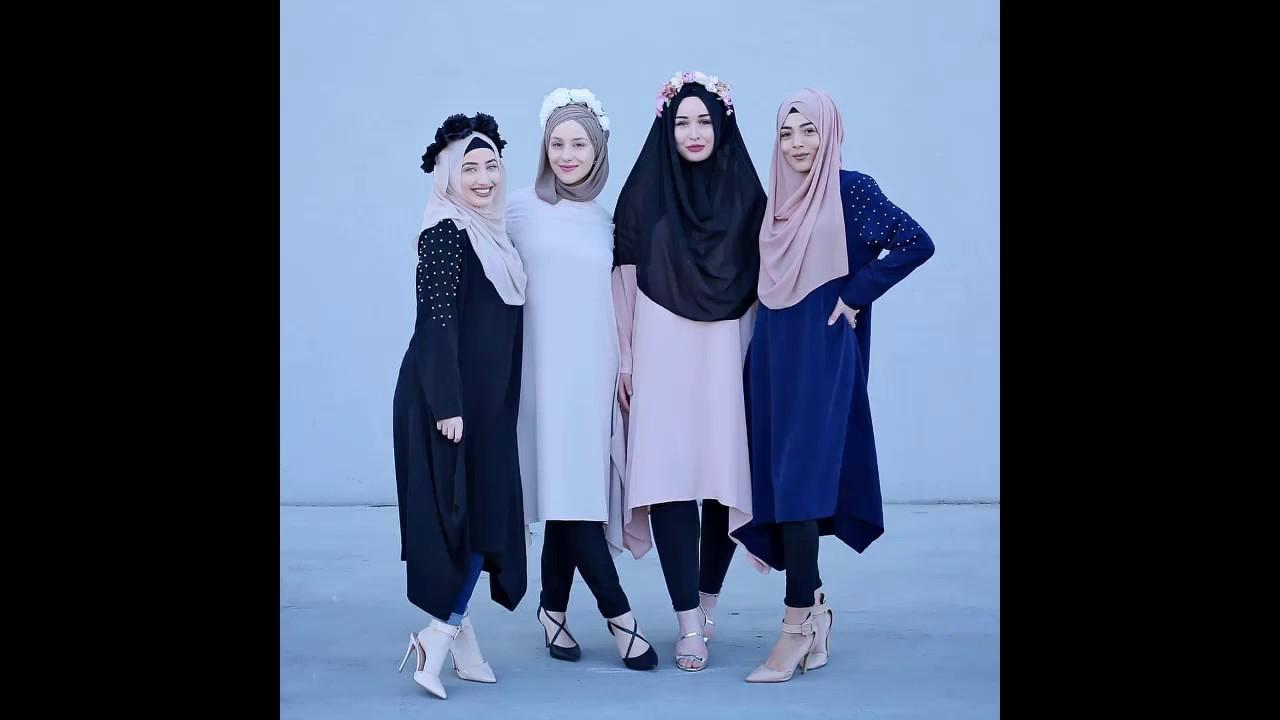 5b774cb75 ملابس محجبات كجوال لربيع وصيف 2018 look book - YouTube