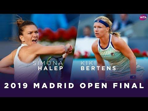 Simona Halep Vs. Kiki Bertens | 2019 Madrid Open Final | WTA Highlights