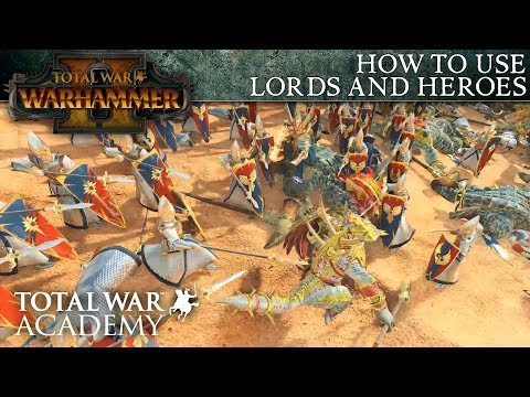 Total War: WARHAMMER 2 - How to Use Lords and Heroes - Video Tutorial