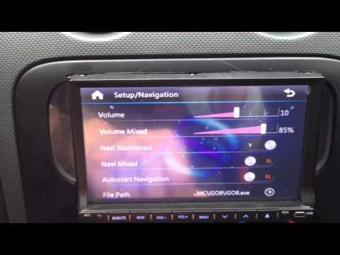 Double DIN Car DVD Navigation Multimedia System