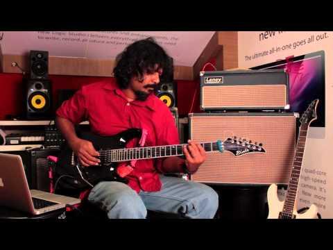 Baiju Dharmajan - Mindstreet (Motherjane) - Guitar Playthrough