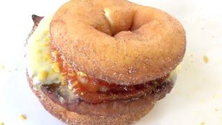 DOUGHNUT BURGER RECIPE  - Gregs Kitchen