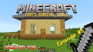 Minecraft Survival - How to build a House [5]