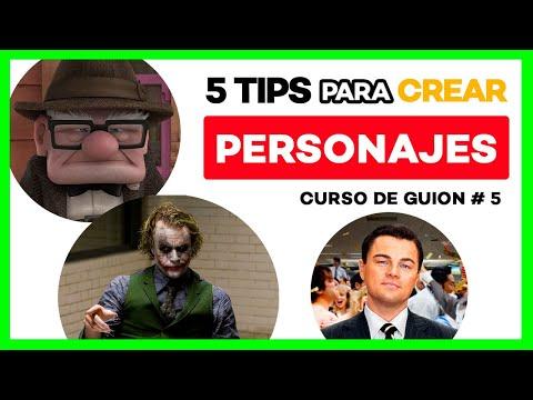 5 TIPS para CREAR PERSONAJES interesantes 👾Curso de GUION #5