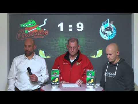 "Crocodiles Hamburg vs EXA Icefighters Leipzig ""Pressekonferenz"""