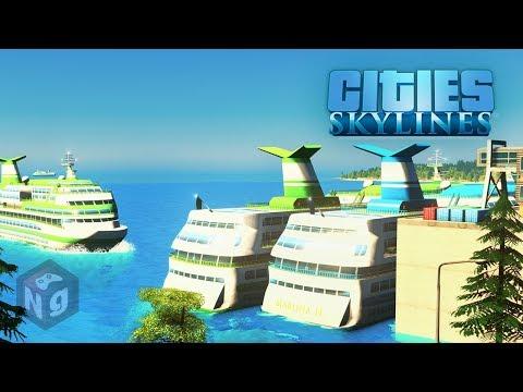 Cities: Skylines - Большой наплыв туристов! #12