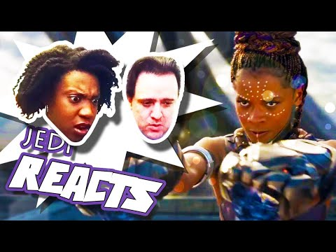 "JEDI REACTS!: ""Black Panther"" Teaser Trailer 🌍 🐘"