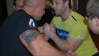 Чемпионат Беларуси по армрестлингу 2015 110 кг левая рука
