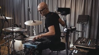 Behind scene of creating 500 one-shot samples within the TM-6 PRO: Michael Schack