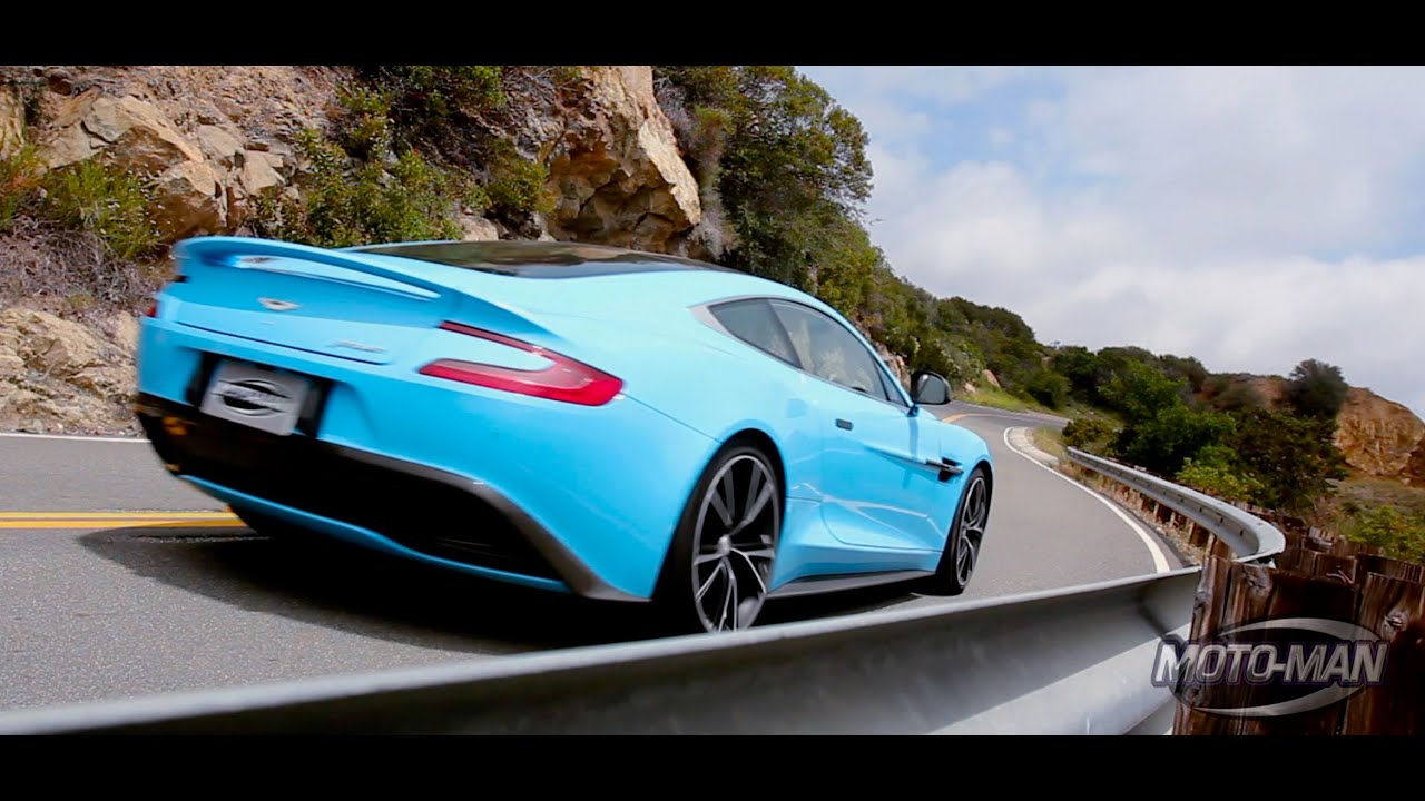 PART TWO - 2014 Aston Martin Vanquish: The Curious Case of ...Aston Martin Vanquish Blue