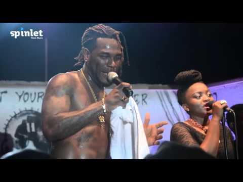 Burna Boy - Yawa Dey (Spinlet sponsored Afropolitan Vibes Oct 2015)