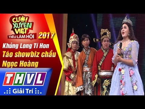 THVL | Cười xuyên Việt – TLH 2017: Tập 9[1]: Táo Showbiz chầu Ngọc Hoàng – Khủng Long Tí Hon