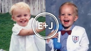 Our Wedding Slide Show - Ellie and Jared as KIDS! | Ellie And Jared