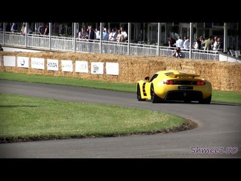Hennessey Venom GT – Track, Startup and Highlights